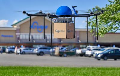 Kroger iniciará prueba de entrega con drones