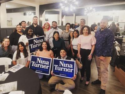 Líderes comunitarios latinos apoyan candidatura de Turner