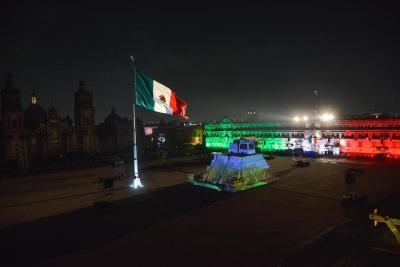 México celebra el Grito de Independencia sin ciudadanos en la plaza por el covid