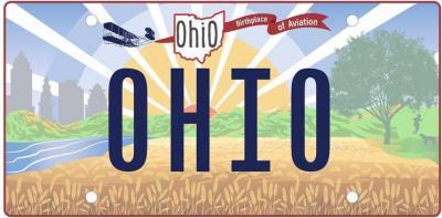 A partir del 29 de diciembre, Ohio tendrá nueva placa vehicular
